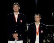Złote medale Olimpijskie (Adam Korol, Leszek Blanik)