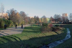 Park Kiloński na Chyloni. Jedno z ulubionych miejsc wypoczynku mieszkańców Chyloni.