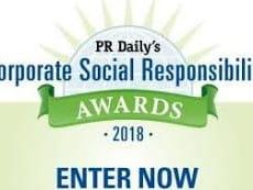 PR Daily's 2018 Corporate Social Responsibility Award
