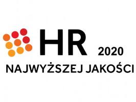 Dziękujemy PSZK za przyznanie nam Certyfikatu HR Najwyższej Jakości 2020! Na co dzień dbamy zarówno o naszych pracowników jak i kandydatów. Stosując dobre praktyki, tworzymy sprzyjające i rozwojowe środowisko pracy.