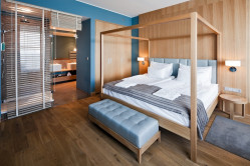 Apartament w stylu skandynawskim w Hotelu Mera Spa w Sopocie