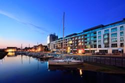 Główną zaletą apartamentów WaterLane w Gdańsku jest ich lokalizacja.