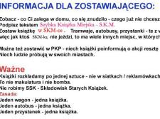 Regulamin akcji Szybka Książka Miejska.