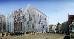 Pomorski Konserwator Zabytów wydał właśnie zgodę na zabudowę działki przy Zielonym Moście. Ma tam powstać budynek usługowo-mieszkaniowy.