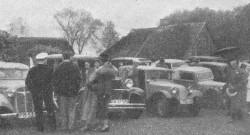 Rajd inauguracyjny z 1936 roku.