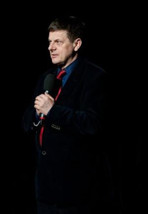 Maciej Korwin (1953-2013) prowadził Teatr Muzyczny w Gdyni przez 18 lat.