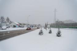 Według naszego czytelnika miejsce między jezdniami ul. Nowej Kościuszki zmarnowano na pas zieleni. Powinna tam powstać jezdnia do zawracania.