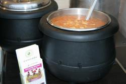 Gotowa zupa wegańska. Smacznego.