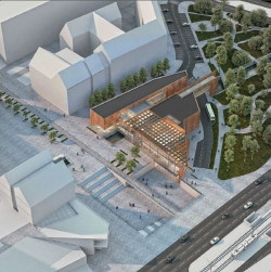 Andrzej Duch: Projekt nie zakłada przedłużenia przejścia podziemnego w ciągu Drogi Królewskiej w kierunku Targu Siennego i Rakowego, a jedynie wyjście na plac otwarty w poziomie przejścia podziemnego.