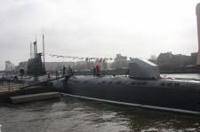 W Kaliningradzie można zwiedzić okręt podwodny.