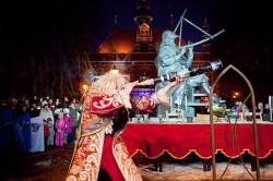 28 stycznia - w dniu urodzin Heweliusza - odbędzie się plenerowe widowisko przy jego pomniku w Gdańsku.
