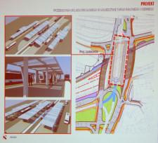 Obecny wiadukt w ciągu al. Armii Krajowej przeznaczony zostanie wyłącznie na potrzeby komunikacji miejskiej. Po obu jego stronach powstaną nowe jezdnie (tzw. uszy) dla ruchu samochodów.