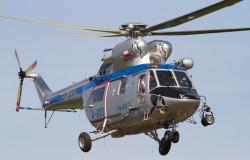 Taki śmigłowiec W-3A Sokół patrolował przestrzeń powietrzną i dbał o kibiców podczas Euro 2012.