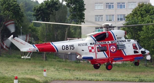 Śmigłowiec ratowniczy Anakonda, będący na wyposażeniu Marynarki Wojennej, jest używany do ratowania na morzu, ale także transportu pacjentów do szpitala.