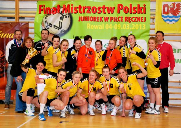 Vistal Łączpol Gdynia - wicemistrzynie Polski juniorek starszych 2013.