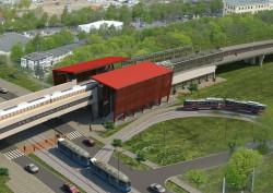 Stacja Gdańsk - Strzyża. Stąd zostaną wywiezione największe masy ziemi.