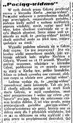 Artykuł w Dzienniku Bałtyckim z 1948 r. Materiał udostępniony przez Grzegorza Feya.