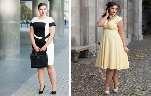- Z różnych powodów nie każda kobieta może mieć mały rozmiar. Każda jednak może wyglądać pięknie - potwierdza Katarzyna Kotarska, właścicielka butiku Modna XXL. - Sesja zdjęciowa tylko to potwierdza.