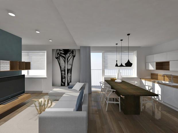 Designerskie elementy wystroju przykuwają uwagę i sprawiają, że wnętrze staje się bardziej nowoczesne.