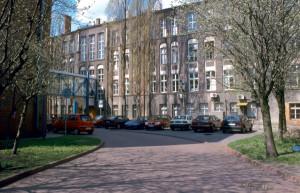 Tak obecnie wygląda Międzyuczelniany Wydział Biotechnologii, który znajduje się przy ul. Kładki 24 w Gdańsku.