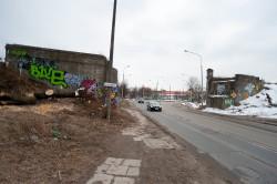 Dawny wiadukt przy ul. Polanki.