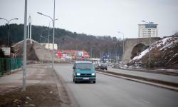 Do teraz pozostał tylko jeden przyczółek wiaduktu nad ul. Słowackiego.