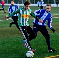 Julien Ripoli zebrał od sztabu szkoleniowego rezerw Lechii bardzo pochlebne recenzje za swój pierwszy oficjalny występ w biało-zielonych barwach.