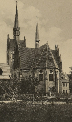 Herz Jesu Kirche  stał się pierwszym rzymskokatolickim kościołem we Wrzeszczu.