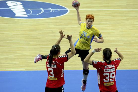 Katarzyna Duran zdobyła 12 z 26 bramek gdynianek w meczu z KSS Kielce.