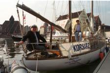S/Y Korsarz to najstarszy jacht pływający pod polską banderą.