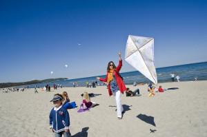 W piątek na sopockiej plaży przed Zatoką Sztuki wszyscy będą puszczać latawce.