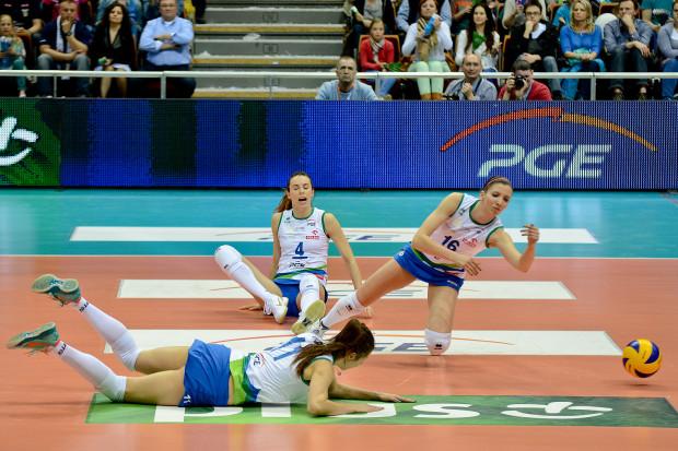 Siatkarki Atomu Trefla Sopot potrzebowały obronić pięć piłek meczowych, aby zachować szanse na złoty medal OrlenLigi.