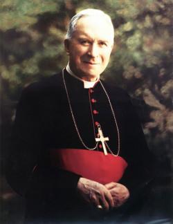 Arcybiskup Marcel Lefebvre - założyciel Bractwa Kapłańskiego św. Piusa X, którego wierni potocznie nazywani są lefebrystami.