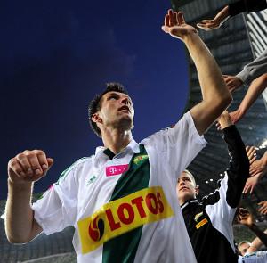 Grzegorz Rasiak nie grał w ekstraklasie od 2 grudnia.
