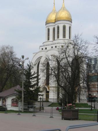 W Kaliningradzie nie brakuje charakterystycznych dla Rosji budowli.