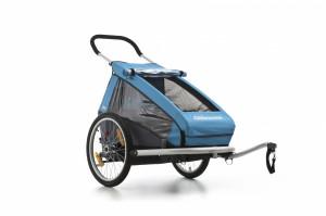 Przyczepki rowerowe możemy kupić już za 300-400 zł. Bardziej wymagający klienci mogą zdecydować się na droższe modele. Ten pokazany na zdjęciu kosztuje 1800 zł.