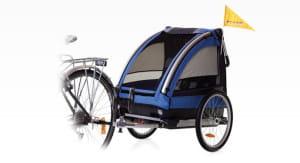 Dziecko może jeździć w przyczepce rowerowej od czasu, gdy opanuje samodzielne i stabilne siedzenie.
