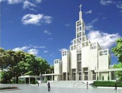 Projekt kościoła na Łostowicach zakłada wieżę wysoką na 40,5 m.
