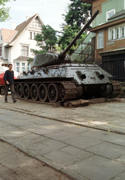 """Nieprędko, jeśli w ogóle, zobaczymy czołg przy """"Willi Rekin"""" w Oliwie."""