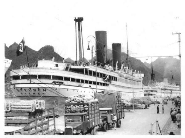 """""""General von Steuben"""" został zatopiony 10 lutego 1945 roku w okolicach Ustki."""