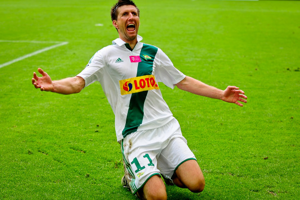Grzegorz Rasiak strzelił wyrównującą bramkę.