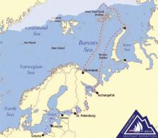 Trasa ekspedycji Sekstant.
