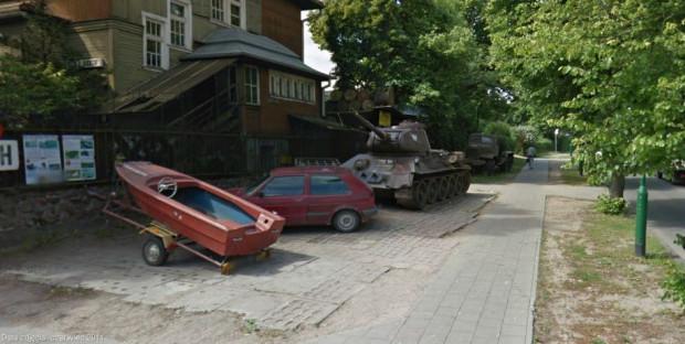Do akcji odzyskania oliwskiego czołgu włączyli się też miłośnicy militariów i mieszkańcy Oliwy.