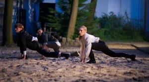 Najwięcej tańca w tym taneczno-teatralnym kryminale  Joanna Czajkowska, przygotowała dla (od lewej): Doroty Zielińskiej, Magdy Wójcik i Joanny Nadrowskiej.