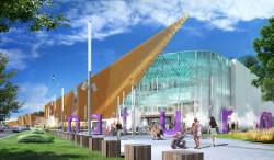 Według jednej z koncepcji, centrum handlowe na Wzgórzu miało nosić nazwę Natura.