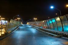 Estakada na Trasie Słowackiego otwarta została już po turnieju Euro.
