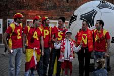 Jedną z najliczniejszych grup kibiców, która odwiedziła Gdańsk podczas Euro byli Hiszpanie. Teraz wracają do Trójmiasta.
