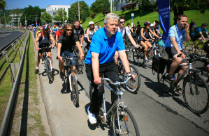 W Wielkim Przejeździe Rowerowym 2013 wzięło udział ponad 10 tysięcy osób.