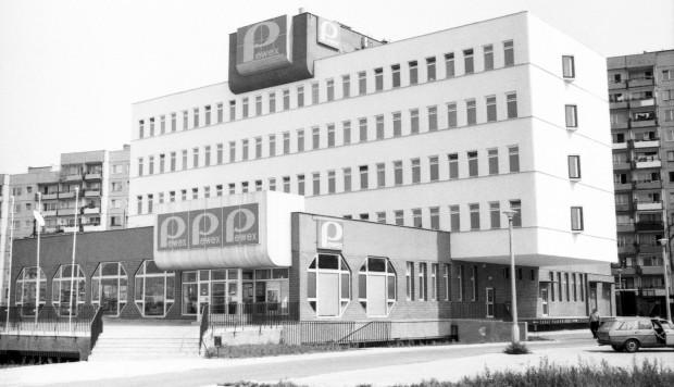Marka Pewex była w czasach PRL synonimem towarów luksusowych. Na zdjęciu biurowiec Pewexu na gdańskiej Zaspie.