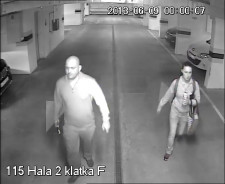 Policja poszukuje pary, która w nocy z soboty na niedzielę włamała się do hali garażowej.
